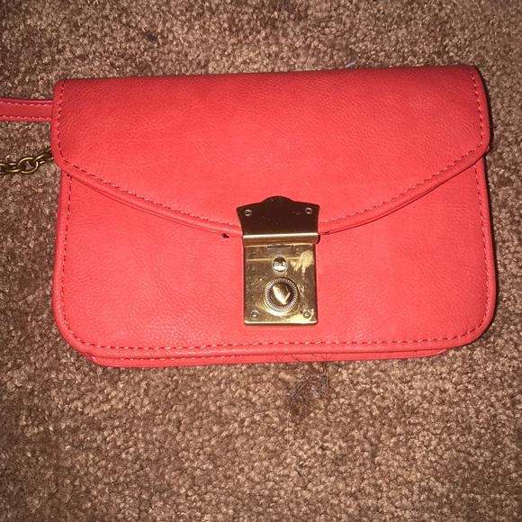 ee2630b304bb American Eagle Outfitters Handbags - Coral American Eagle Crossbody Bag